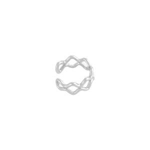 Earcuff-zilver-zigzag