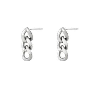 oorbel-zilver-chain