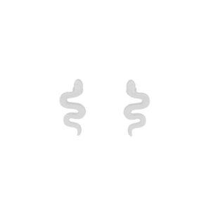 oorbel-zilver-snake