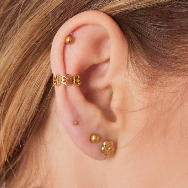 earcuff-goud-bloemen