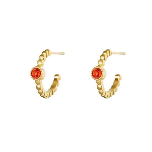 oorbel-goud-ring-rood