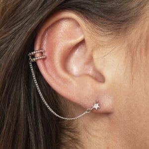 earcuff-zilver-twist
