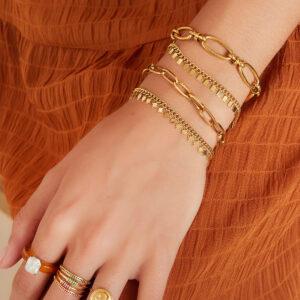 armband-goud-zilver-rechthoeken