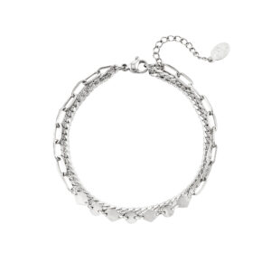 armband-zilver-party