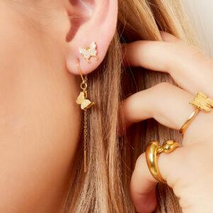 oorbel-goud-zilver-chain-vlinder