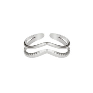 ring-zilver-wave
