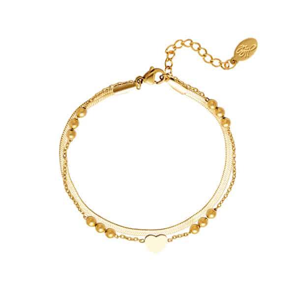 armband-goud-minimalistisch-hart
