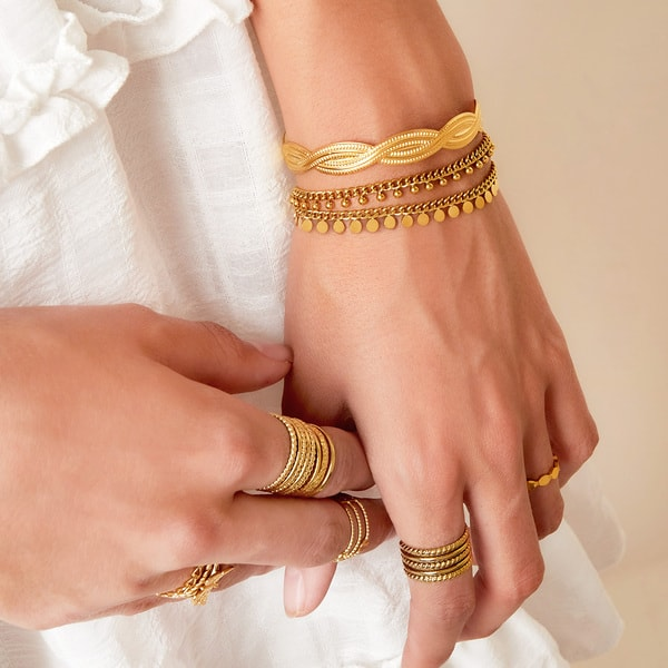 armband-goud-zilver-coin-party
