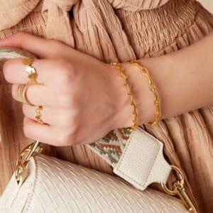armband-goudzilver-lauwerkrans