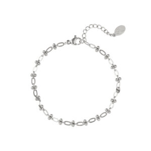 armband-zilver-dotted