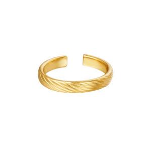 ring-goud-structuur